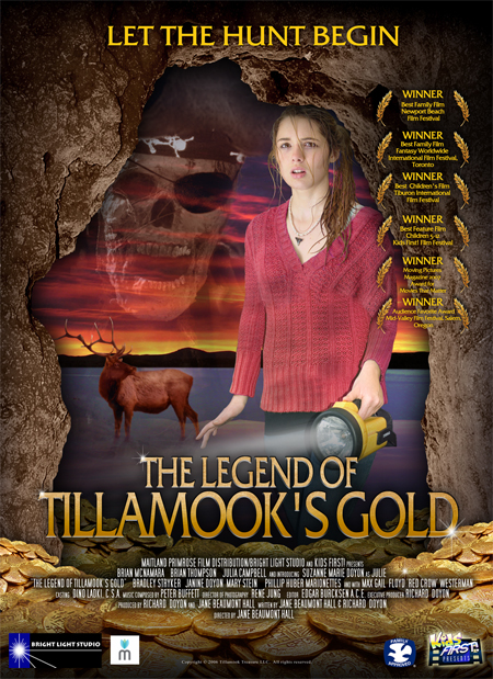 Legend of Tillamook's Gold Poster